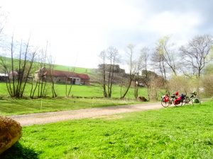 Picknick Pause in Hessen