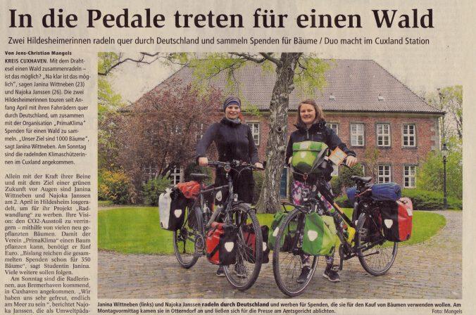 Niederelbe Zeitung vom 9.5.2017