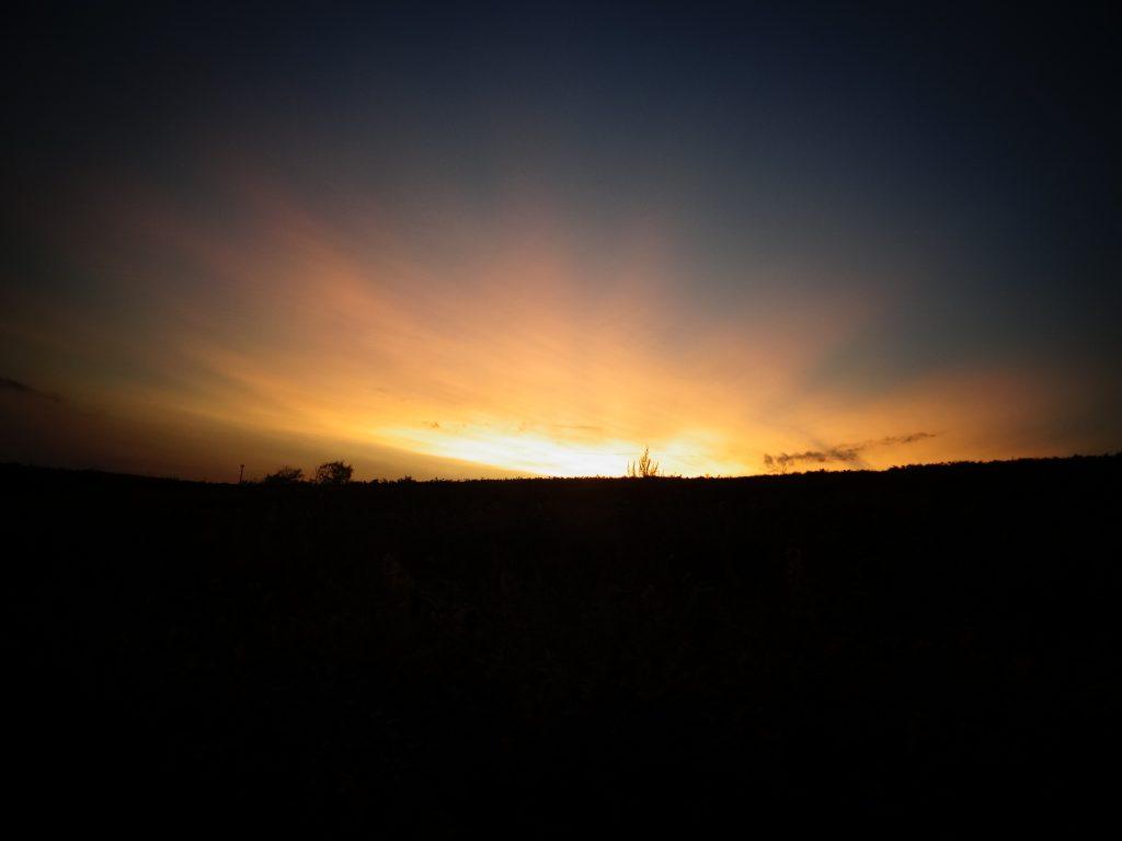 Jeden Tag geht die Sonne wieder auf.
